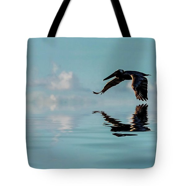 Floating On Air Tote Bag by Cyndy Doty
