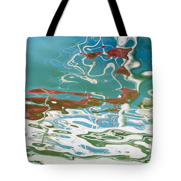 Floating On Blue 35 Tote Bag