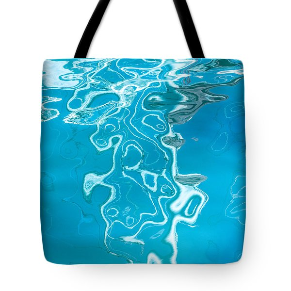 Floating On Blue 38 Tote Bag