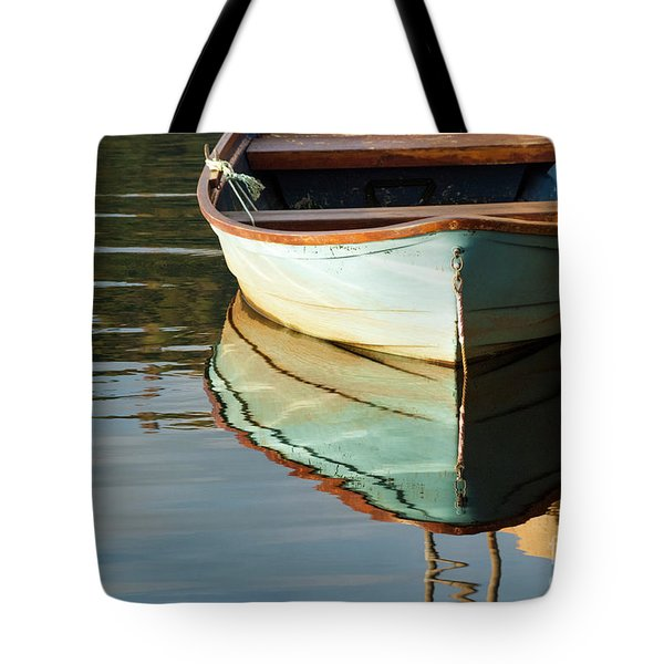 Tote Bag featuring the photograph Floating On Blue 44 by Wendy Wilton