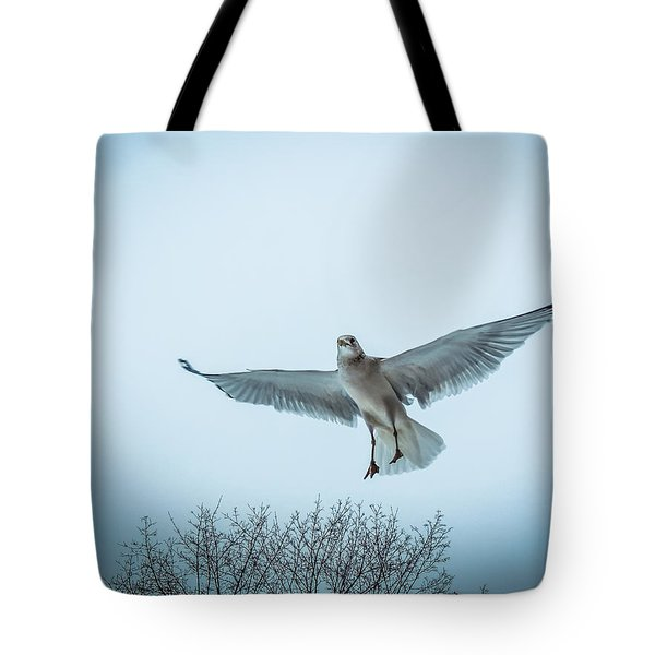 Tote Bag featuring the photograph Floating On Hope  by Glenn Feron