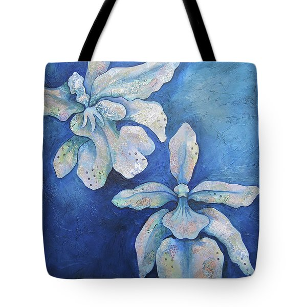 Floating Orchid Tote Bag by Shadia Derbyshire