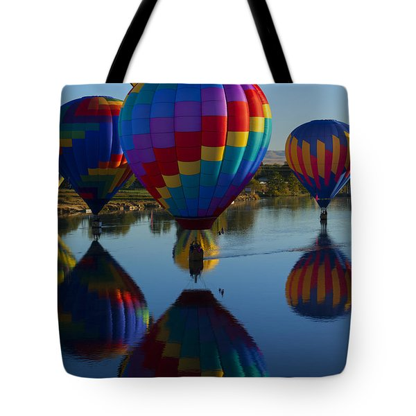 Floating Reflections Tote Bag