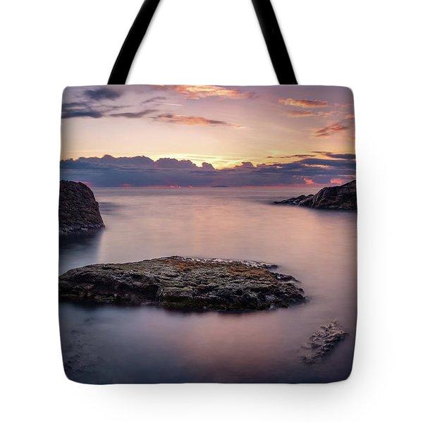 Floating Rocks Tote Bag
