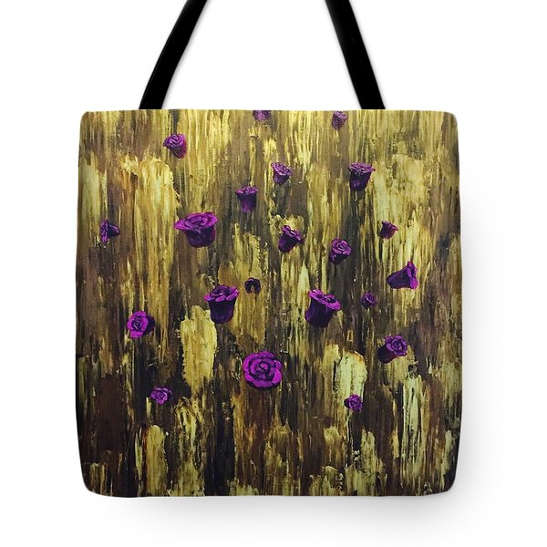Floating Royal Roses 1 Tote Bag