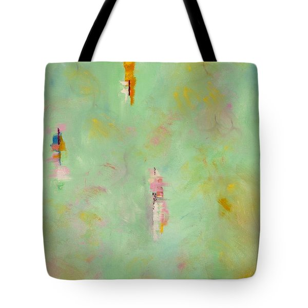 Floating Tote Bag by Suzzanna Frank