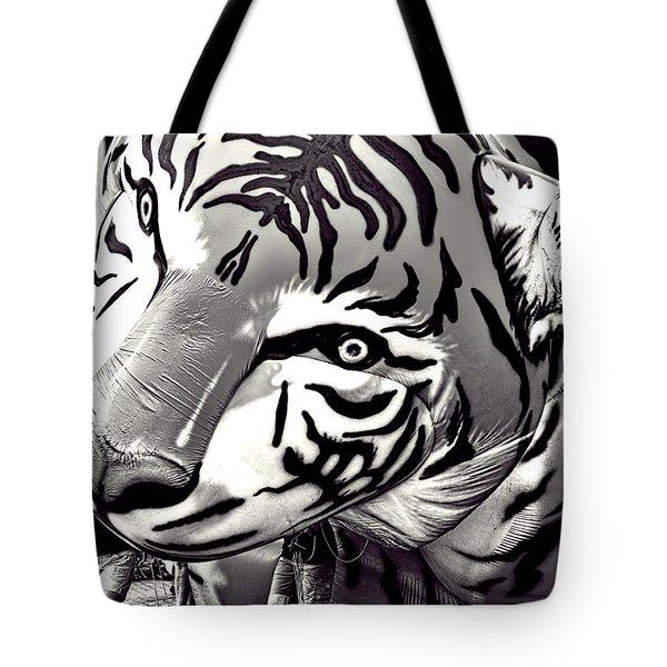 Floating Tiger Tote Bag