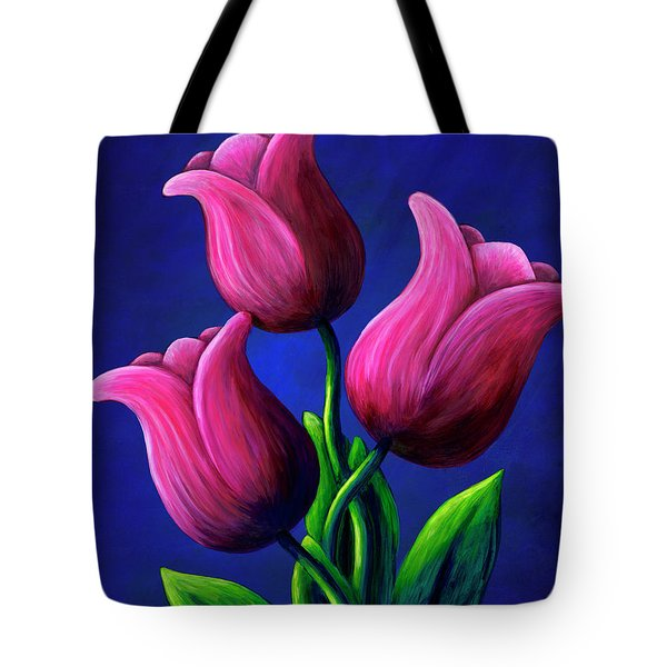 Floating Tulips Tote Bag