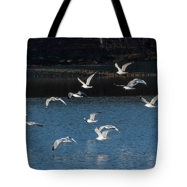 Flock Of Them Tote Bag