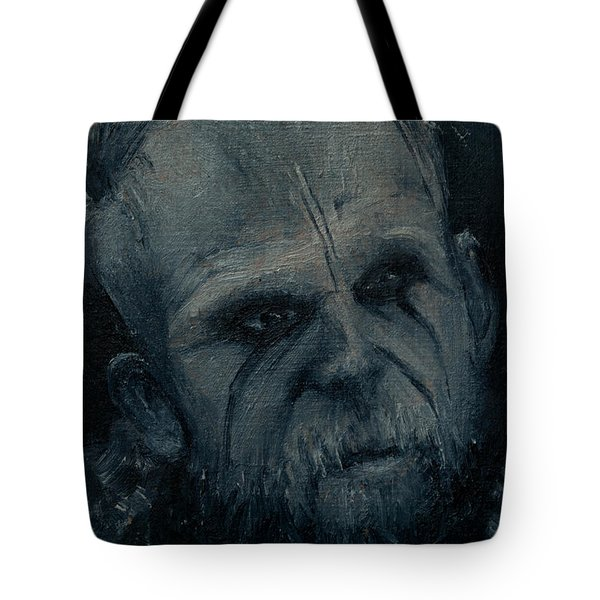 Tote Bag featuring the painting Floki by Lynn Hughes