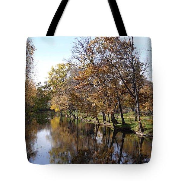Flood Plain Tote Bag by Joseph Yarbrough