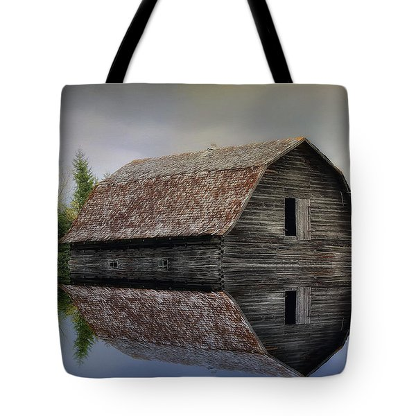 Flooded Barn Tote Bag