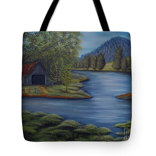 Flooded Farms Tote Bag