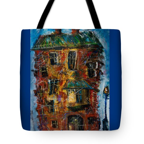 Flooded House Tote Bag