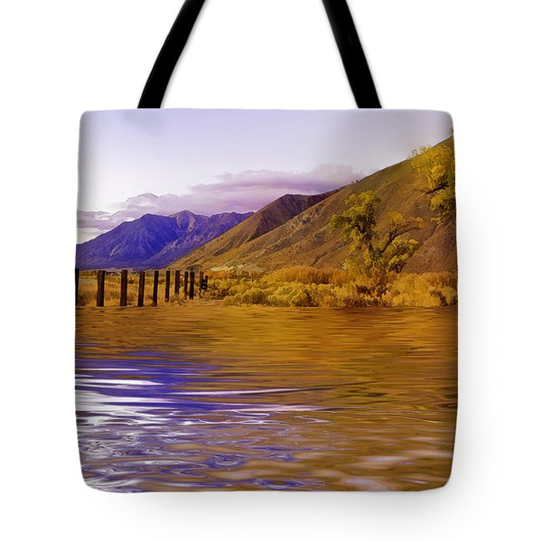 Flooded Pasture Tote Bag