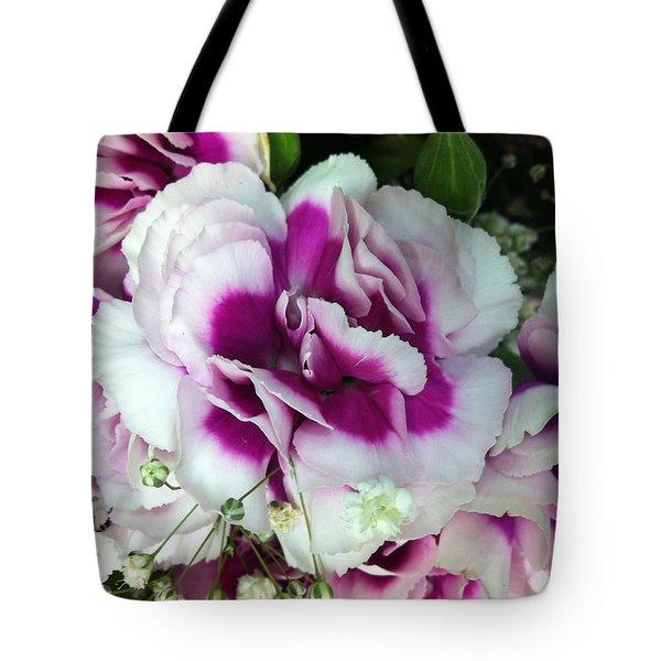 Flor Tote Bag by Carlos Avila