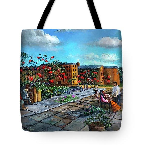 Flor De Noche Buena Tote Bag