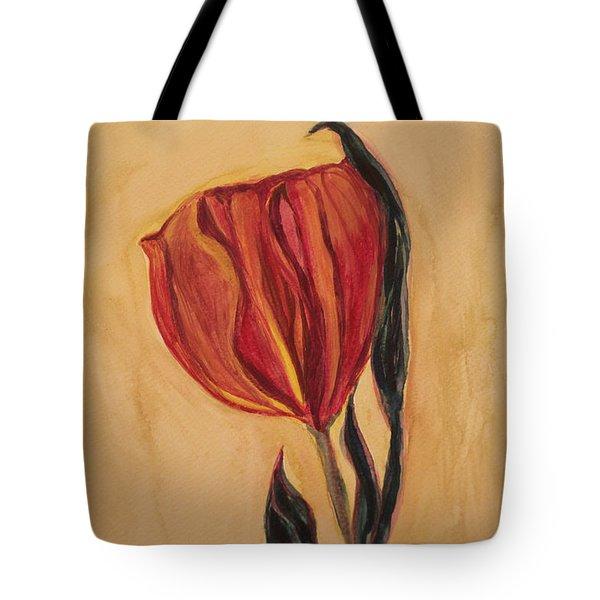 Flor Del Alma Tote Bag by The Art Of Marilyn Ridoutt-Greene