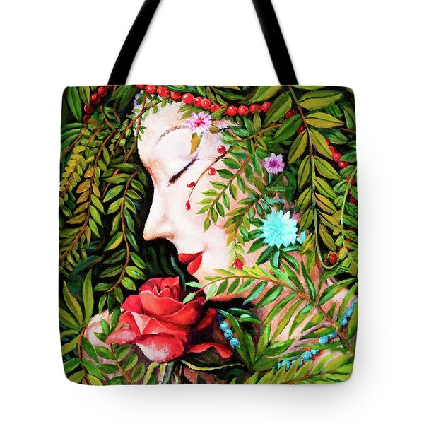 Flora-da-vita Tote Bag by Igor Postash