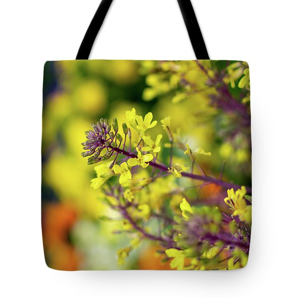 Tote Bag featuring the photograph Flora Flora Flora by Keith Smith