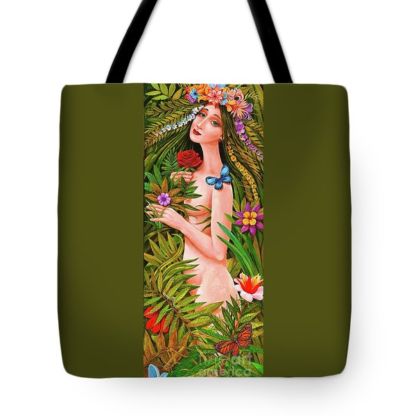 Flora Tote Bag by Igor Postash