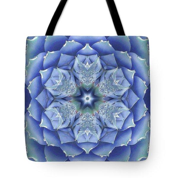 Flora Muse Mandala Tote Bag