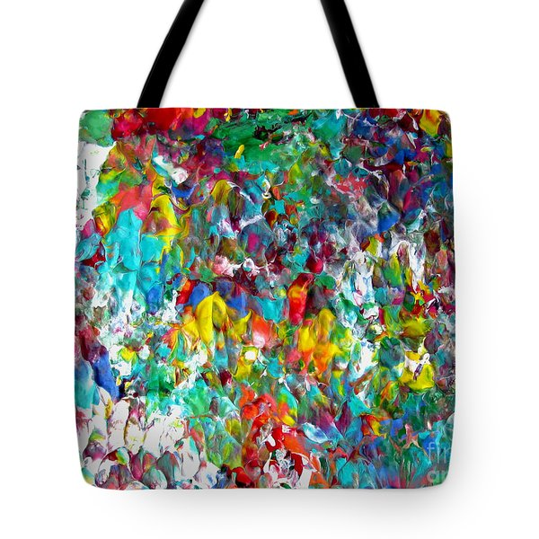 Floral Abstract 0715 Tote Bag
