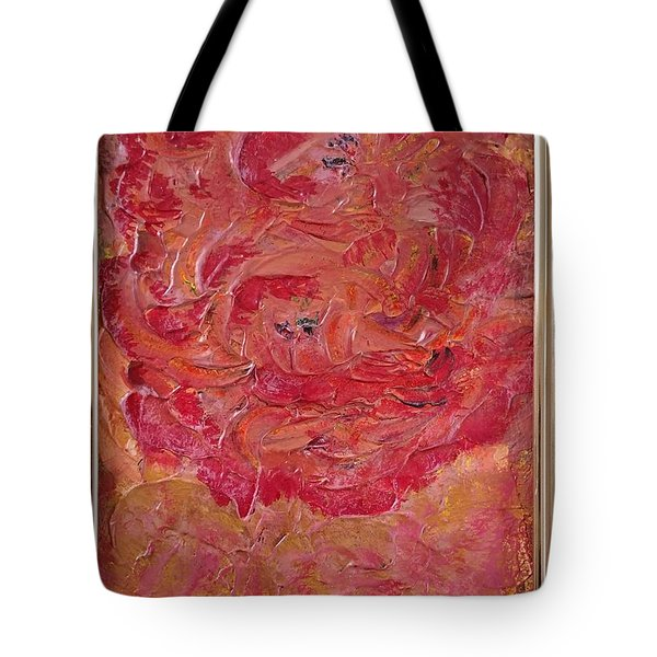 Floral Abstract 1 Tote Bag