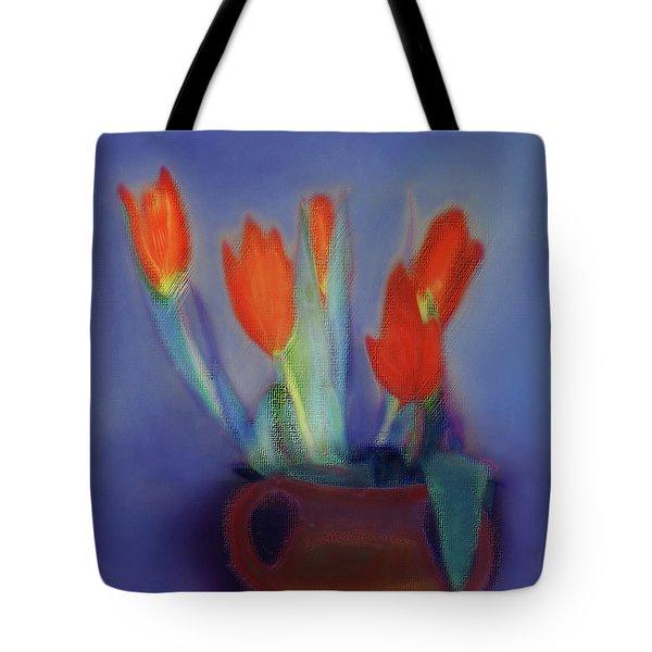 Floral Art 17 Tote Bag