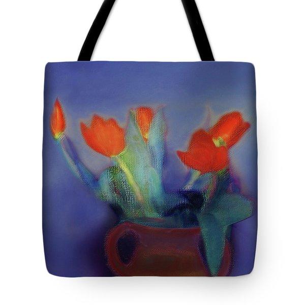 Floral Art 18 Tote Bag
