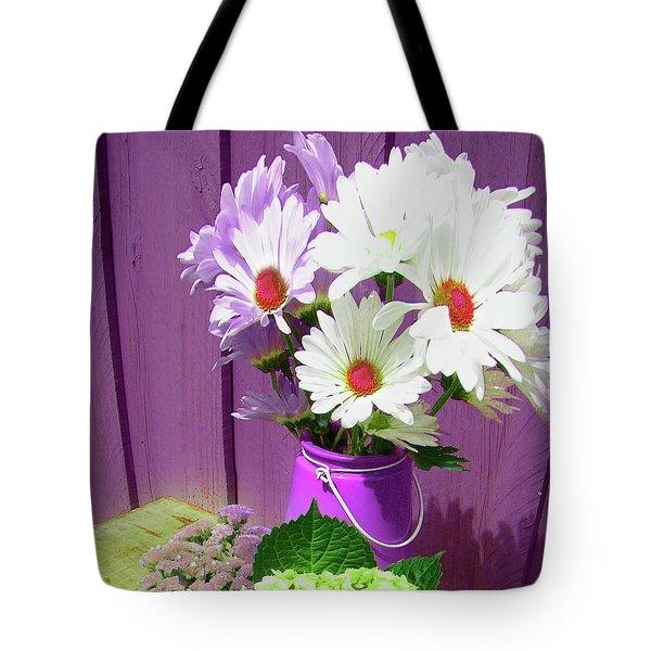Floral Art 335 Tote Bag