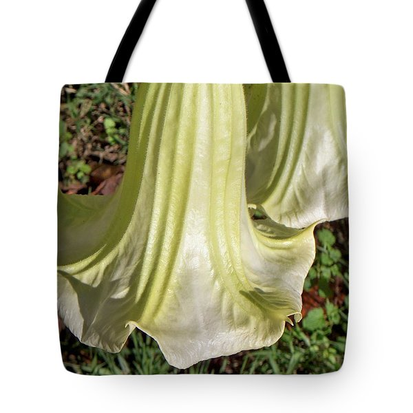 Tote Bag featuring the photograph Floral Ballgown by Betty Northcutt