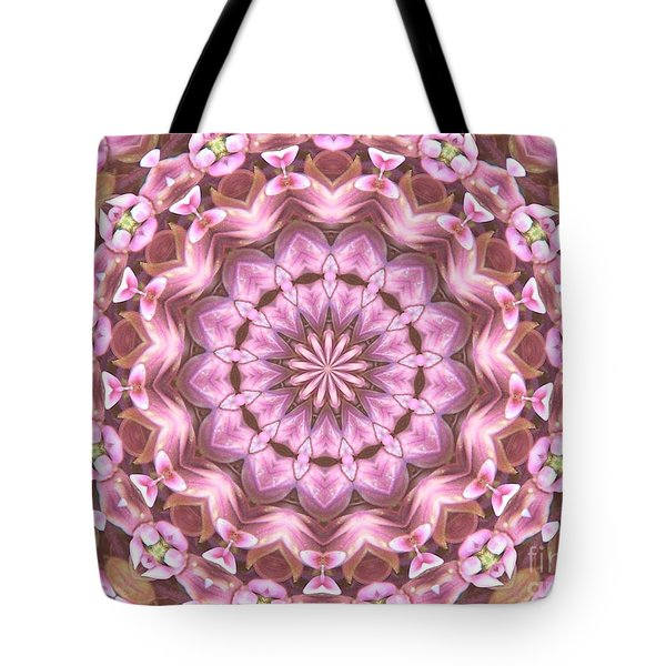 Tote Bag featuring the photograph Floral Burst by Shirley Moravec