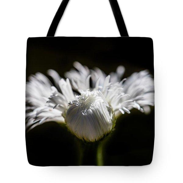 Floral Chiaroscuro Tote Bag