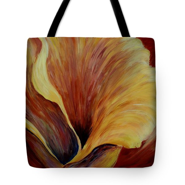 Floral Close Up Tote Bag