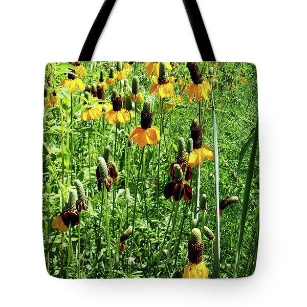 Tote Bag featuring the photograph Floral by Cynthia Powell