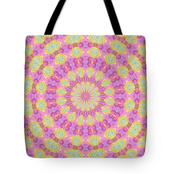 Tote Bag featuring the digital art Floral Design by Elizabeth Lock