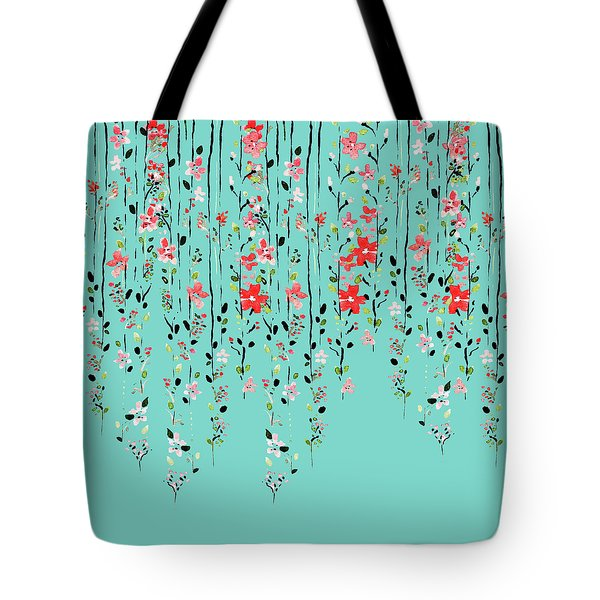 Floral Dilemma Tote Bag
