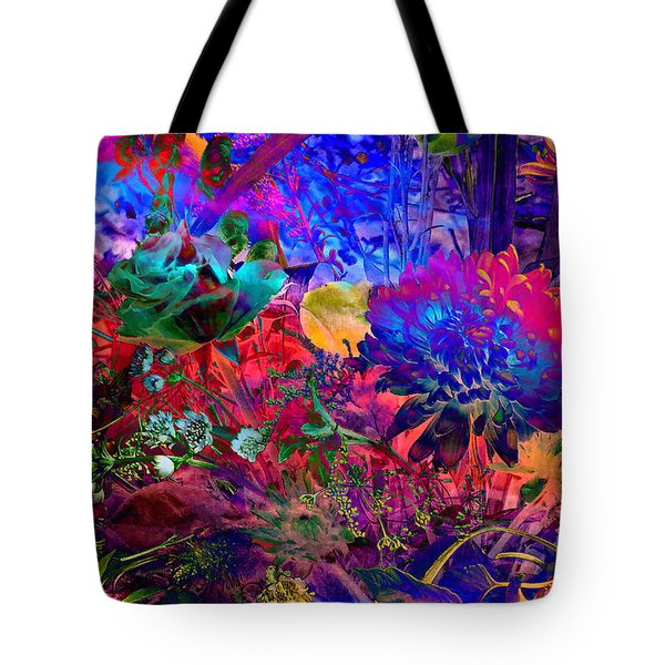 Floral Dream Of Summer Tote Bag