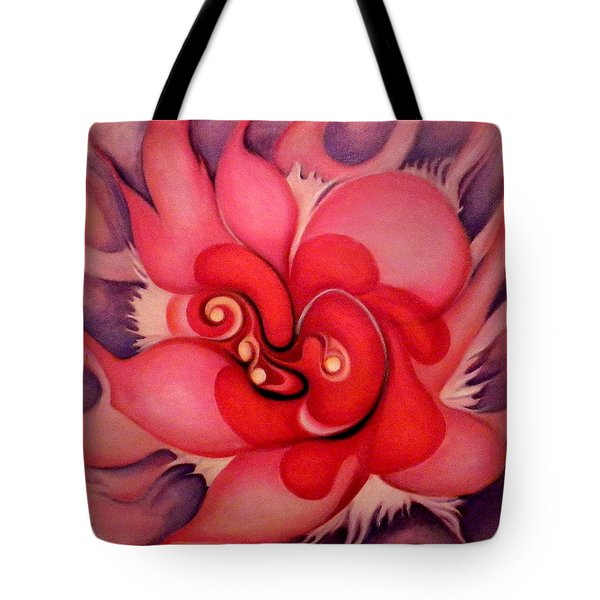 Floral Energies Tote Bag