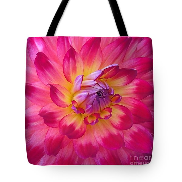 Tote Bag featuring the photograph Floral Fantasia by Patricia Strand