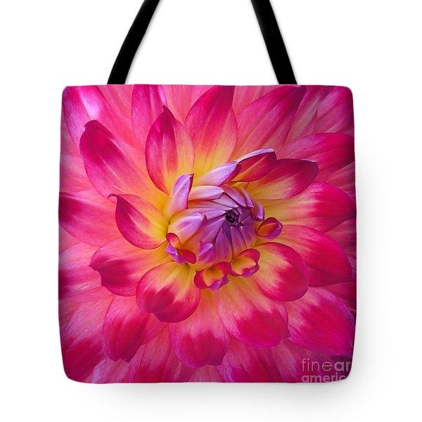 Floral Fantasia Tote Bag