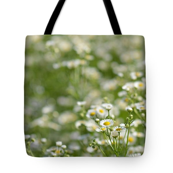 Floral Field #1 Tote Bag