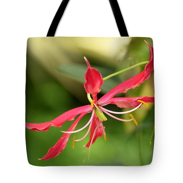 Tote Bag featuring the photograph Floral Flair by Deborah  Crew-Johnson