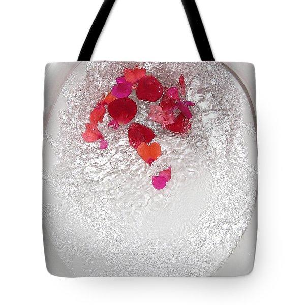 Floral Flush Tote Bag