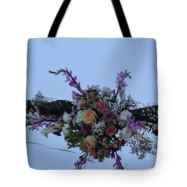 floral love in the Kenyan sky Tote Bag