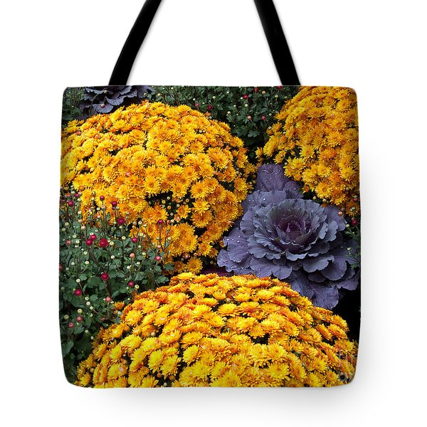 Floral Masterpiece Tote Bag by Ann Horn