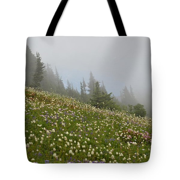 Floral Meadow Tote Bag