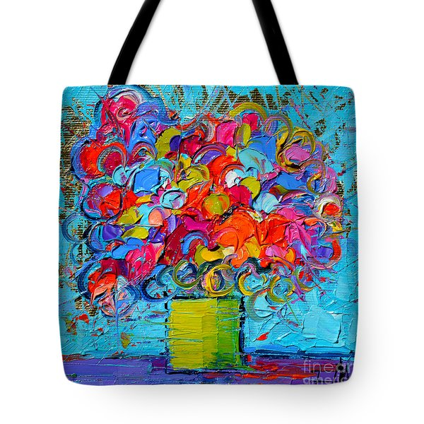 Floral Miniature - Abstract 0415 Tote Bag