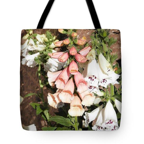 Floral Niagra Tote Bag